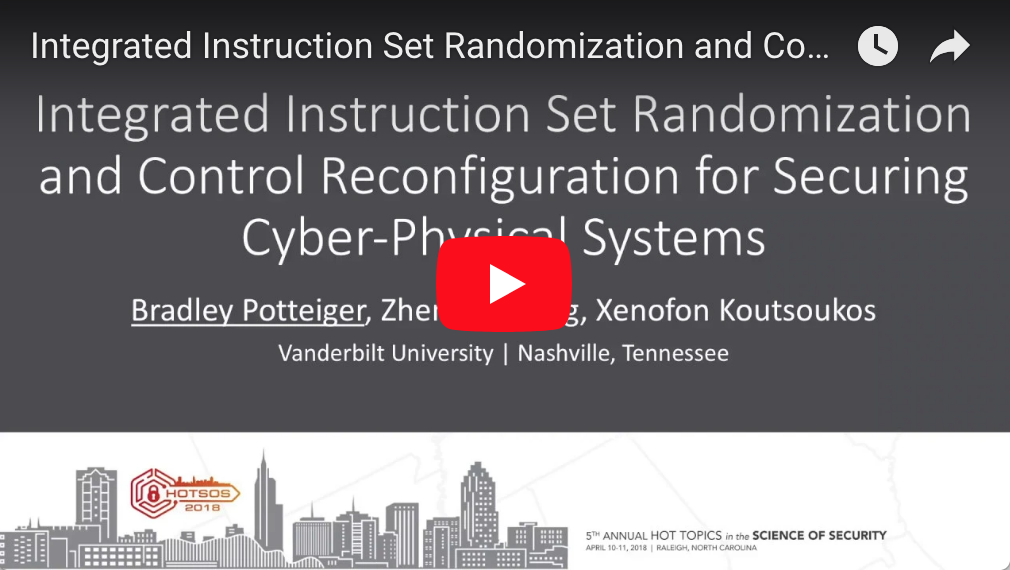 Integrated Instruction Set Randomization And Control Reconfiguration