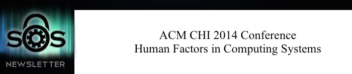 ACM CHI Conference on Human Factors in Computing Systems