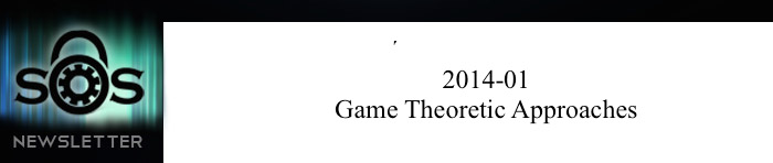 Game Theoretic Approaches