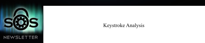 keystroke Analysis