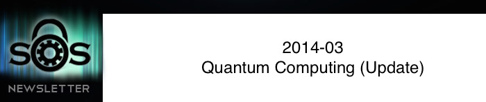 Quantum Computing (Update)