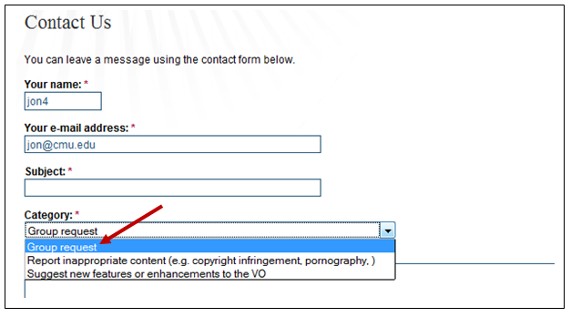 Figure 2: Contact Portal Manager